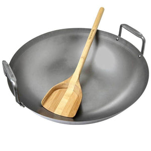 Big Green Egg Carbon Steel Wok - Pacific Flyway Supplies