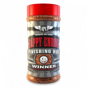 Big Poppa Smokers Happy Ending BBQ Finishing Rub - Pacific Flyway Supplies