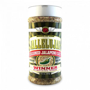 Big Poppa Smokers Jallelujah Seasoned Jalapeno Salt - Pacific Flyway Supplies