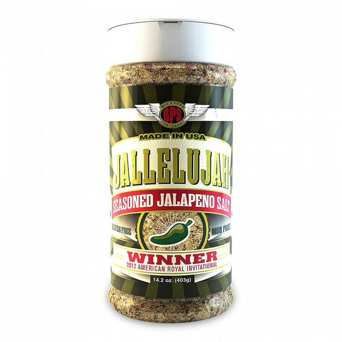 Big Poppa Smokers Jallelujah Seasoned Jalapeno Salt