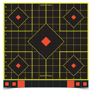 "Birchwood Casey SHOOT•N•C Self Adhesive Sight In 12"" Targets 5 Pack - Pacific Flyway Supplies"