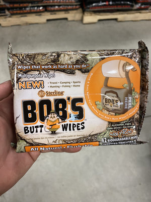 Bob's Butt Wipes Refill Pack - Pacific Flyway Supplies