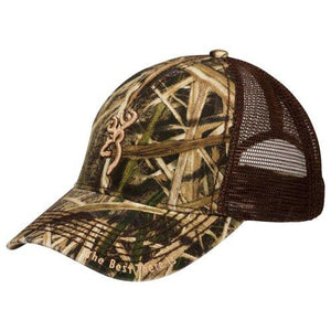 Browning Bozeman Brown Mossy Oak Shadow Grass Blades Hat - Pacific Flyway Supplies