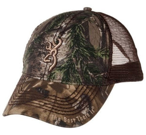 Browning Bozeman Brown Realtree Xtra Hat - Pacific Flyway Supplies
