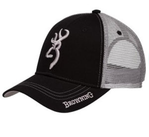 Browning Cache Black/Grey Hat - Pacific Flyway Supplies