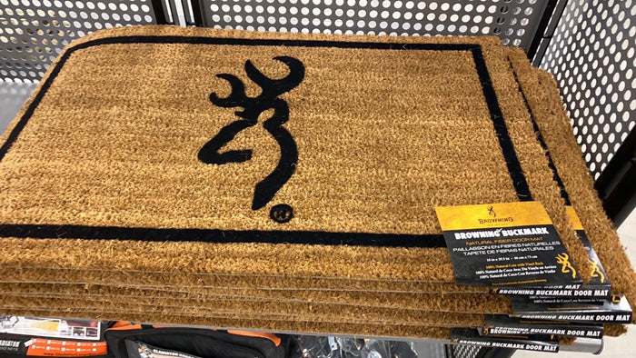 Browning Door Mat