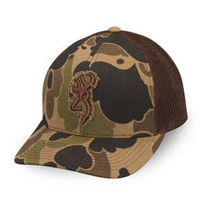 Browning Flashback Mesh Bubble Camo Hat - Pacific Flyway Supplies