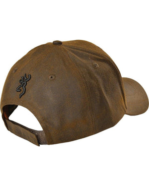 Browning Liberty Wax Dark Brown Hat - Pacific Flyway Supplies