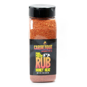 Caribeque Honey Heat Pork & Poultry Rub - Pacific Flyway Supplies