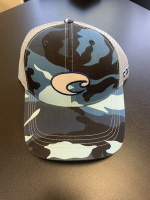 Costa Blue Camo Hat - Pacific Flyway Supplies