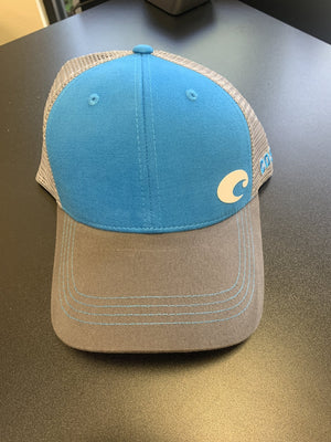 Costa Blue/Gray Hat - Pacific Flyway Supplies