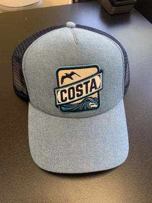 Costa Patch Denim Hat - Pacific Flyway Supplies