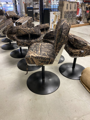 Custom Duck Blind Stool Boat Seat - Pacific Flyway Supplies
