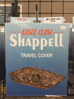 Eagle Claw Shappell Travel Cover JS1-ATC-CV Camo - Pacific Flyway Supplies