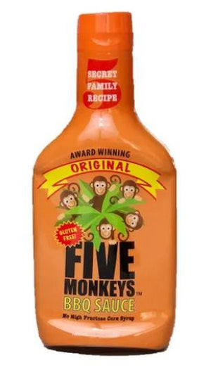 Five Monkeys BBQ Sauce - Original - Pacific Flyway Supplies