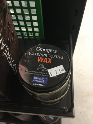 Grangers Waterproofing Wax - Pacific Flyway Supplies
