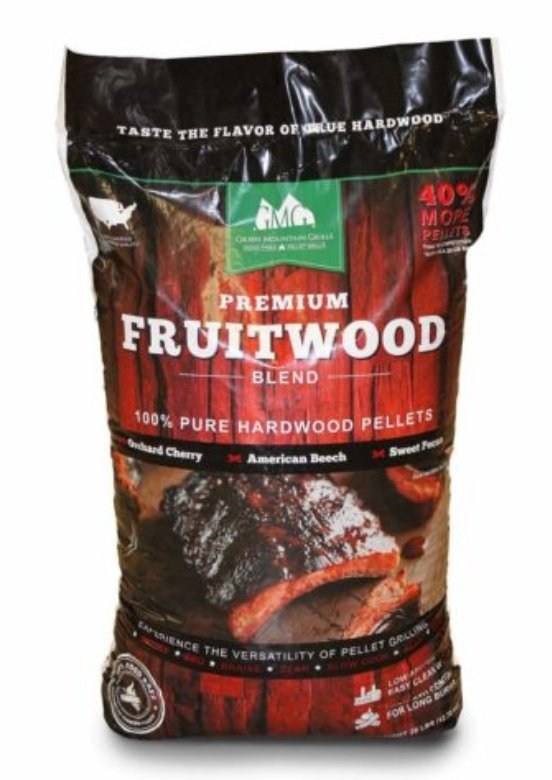 Green Mountain Grills Premium Fruitwood Blend