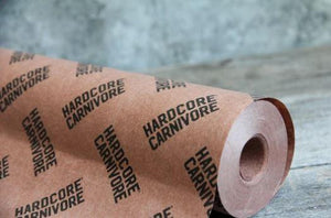 Hardcore Carnivore Peach Paper BBQ Butcher Paper Roll - Pacific Flyway Supplies