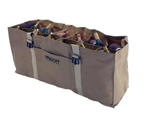 Higdon 12-Slot Duck Decoy Bag Brown - Pacific Flyway Supplies
