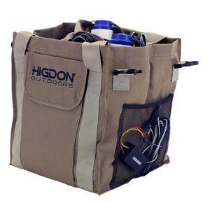 Higdon 4-Slot Motion Decoy Bag Brown - Pacific Flyway Supplies