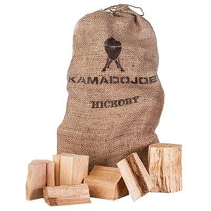 Kamado Joe Hickory Chunks 10 lb Bag - Pacific Flyway Supplies