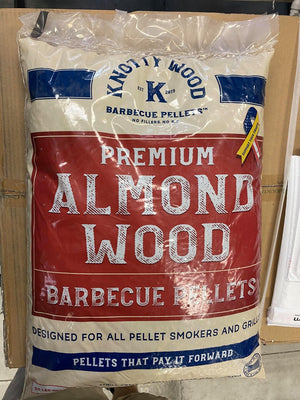 Knotty Wood Almond Wood Pellets - Pacific Flyway Supplies