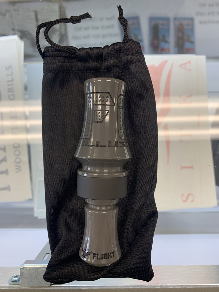 "Last Flight Calls ""The Illusion"" Grey Double Reed Duck Call"