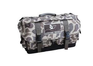 Lifetime Decoys Old School Camo Blind Bag - Pacific Flyway Supplies