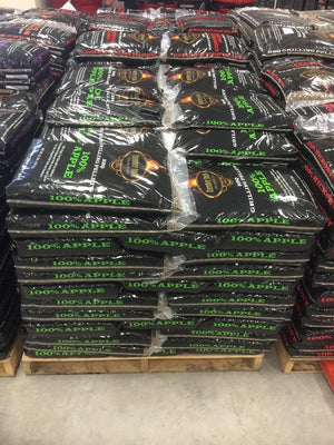 Lumberjack Grilling Pellets 100% Apple - Pacific Flyway Supplies