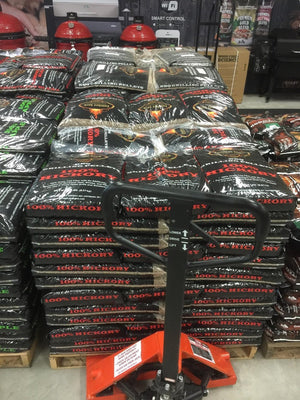 Lumberjack Grilling Pellets 100% Hickory - Pacific Flyway Supplies