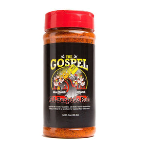 Meat Church BBQ The Gospel All Purpose Rub - Pacific Flyway Supplies
