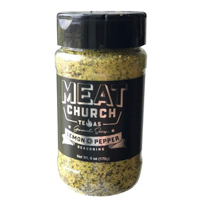 Meat Church Lemon Pepper - Pacific Flyway Supplies