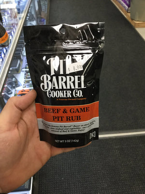 Pit Barrel Beef & Game Pit Rub - Pacific Flyway Supplies