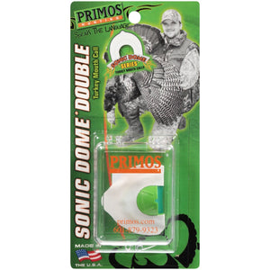 Primos Hunting Sonic Dome Double Turkey Mouth Call - Pacific Flyway Supplies