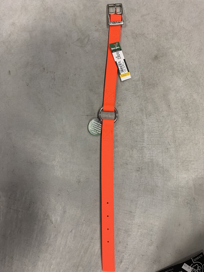 Remington Orange Nylon Dog Collar