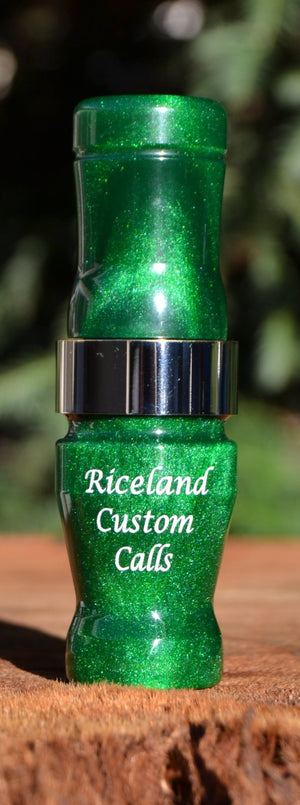 Riceland Custom Calls 1/2 Guts Acrylic Specklebelly - Pacific Flyway Supplies