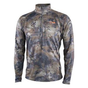 Sitka Midweight Zip-T Waterfowl Timber - Pacific Flyway Supplies
