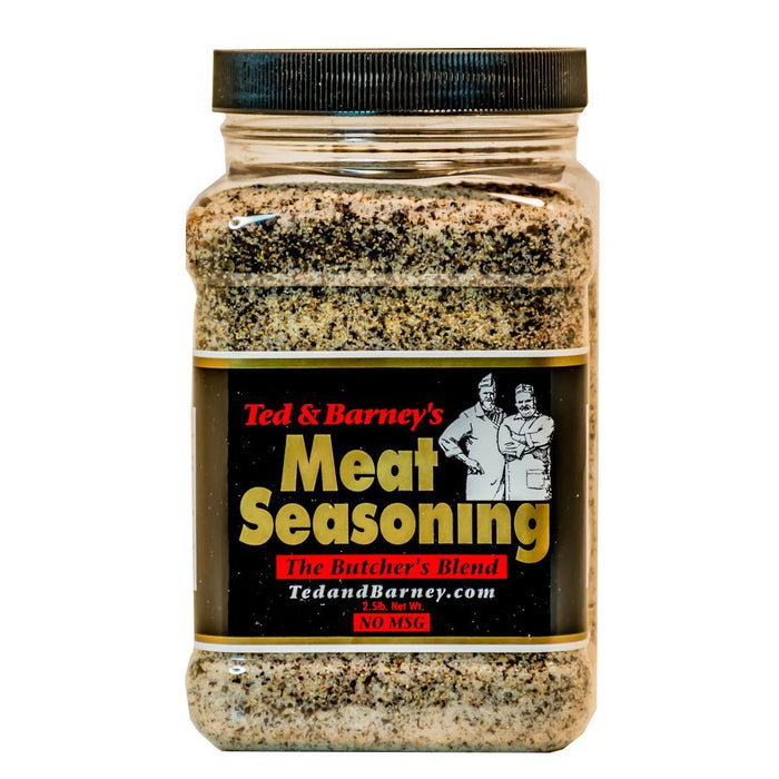 Ted & Barney's Meat Seasoning The Butcher's Blend 2.5lbs