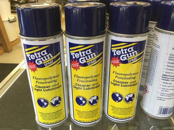 Tetra Gun Spray Cleaner and Light Lubricant