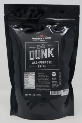 Whiskey Bent BBQ The Dunk Brine - Pacific Flyway Supplies