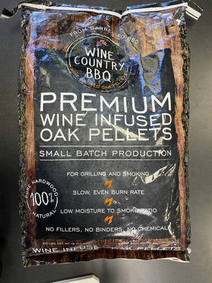 Wine Country Bbq Wine Infused Oak Pellets - Pacific Flyway Supplies