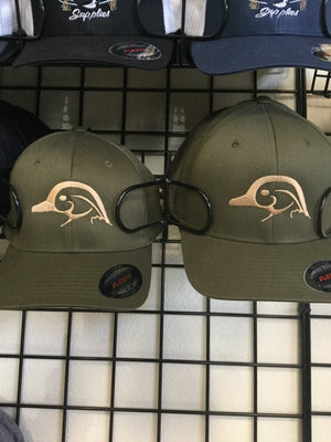 Wood Duck Logo Flex Fit Hat - Pacific Flyway Supplies
