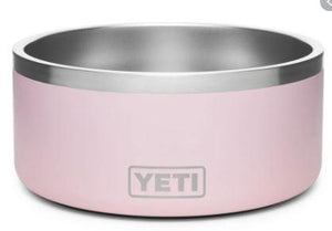 Yeti Boomer 4 Dog Bowl Ice Pink - Pacific Flyway Supplies