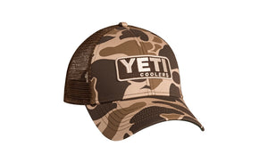Yeti Custom Camo Hat With Patch - Pacific Flyway Supplies