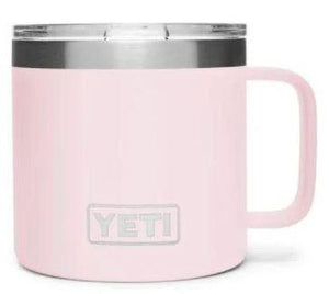 Yeti Rambler 14 oz Mug Ice Pink - Pacific Flyway Supplies