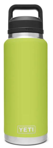 Yeti Rambler Bottle 36oz with Chug Cap Chartreuse - Pacific Flyway Supplies
