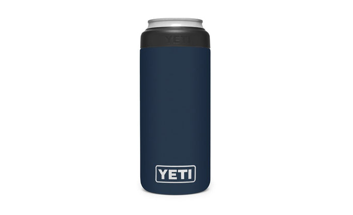 Yeti Rambler 12oz Colster Slim Can Insulator Navy