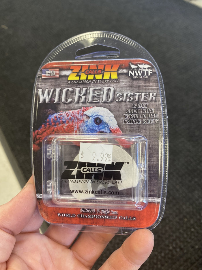 Zink Wicked Sister Turkey Call