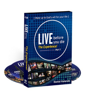 Live before you die (3 DVD Set)