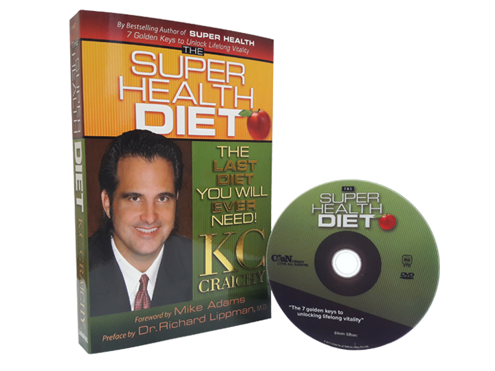 Super Health Diet DVD + Super Health Diet Book